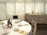 Frame Interiors of Inverhall Marquees | Johnstone | Scotland